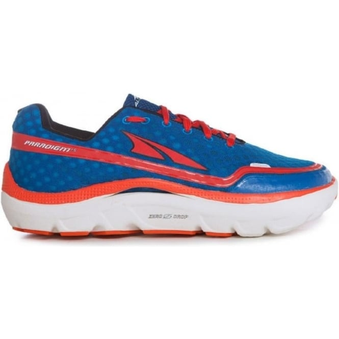 Paradigm 1.5 Navy/Red Mens Zero Drop Road Running Shoe