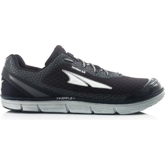 Altra Instinct 3.5 Mens Zero Drop Road Running Shoe Black/Silver