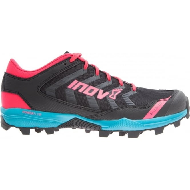 Inov8 X-Claw 275 Womens Fell Running Shoes STANDARD FIT Black/Teal/Berry