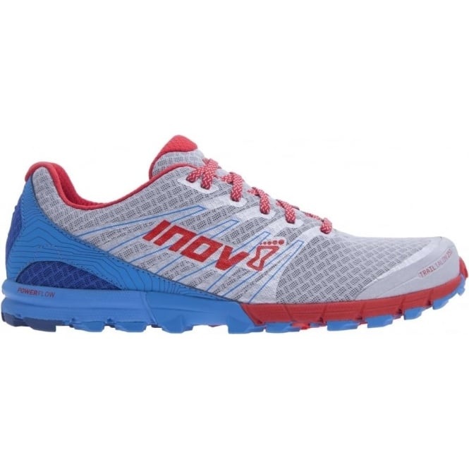 TrailTalon 250 STANDARD FIT Mens Trail Running Shoes Silver/Blue/Red