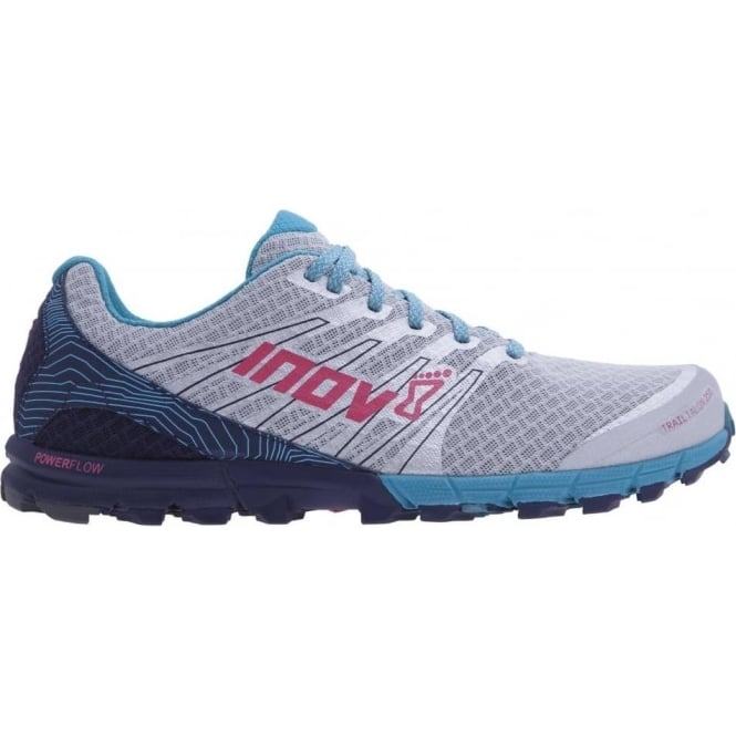 TrailTalon 250 Womens STANDARD FIT Trail Running Shoes Silver/Navy/Teal