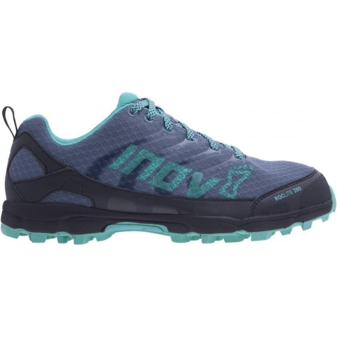 Roclite 280 Womens STANDARD FIT Trail Running Shoes Blue/Teal/Grey