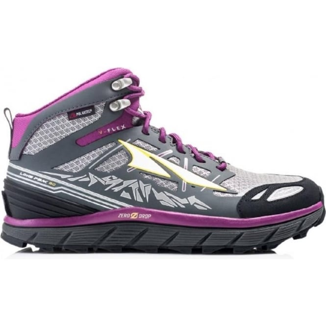 Altra Lone Peak 3.0 Neoshell Mid Grey/Purple Womens