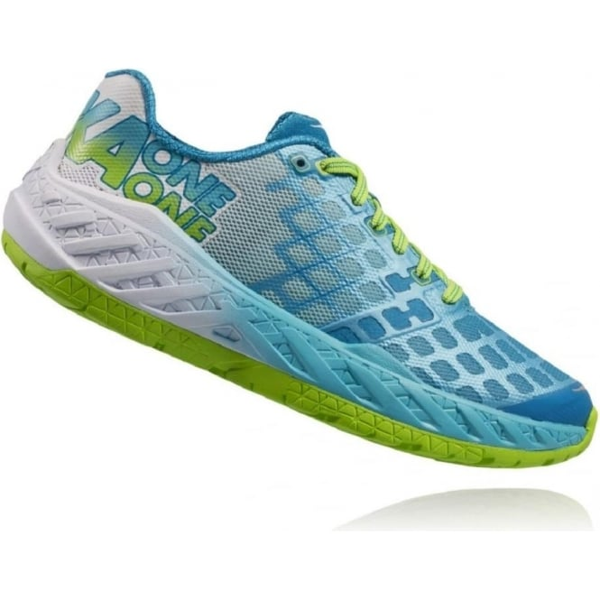 Hoka Clayton Green/Blue Womens