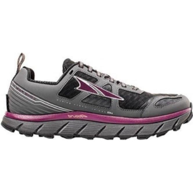 Altra Lone Peak 3.0 Womens Trail Running Shoes Black/Purple