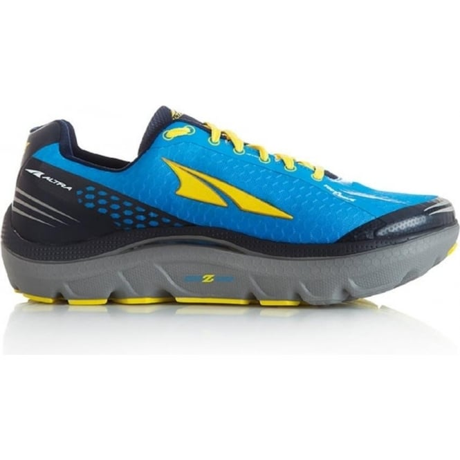 Altra Paradigm 2.0 Blue/Yellow Mens Zero Drop Road Running Shoes