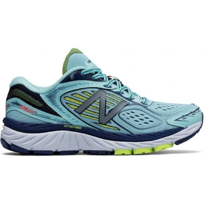 New Balance 860 V7 Womens B WIDTH (STANDARD) Road Running Shoes Blue