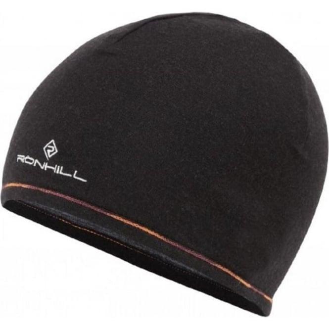 Ronhill Merino 200 Hat Grey Marl/Black