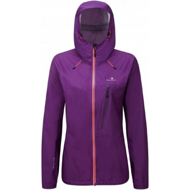 Ronhill Trail Torrent Jacket Eldberberry/Hot Coral Womens