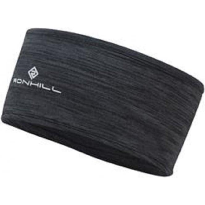 Ronhill Thermal 200 Headband Charcoal/Marl