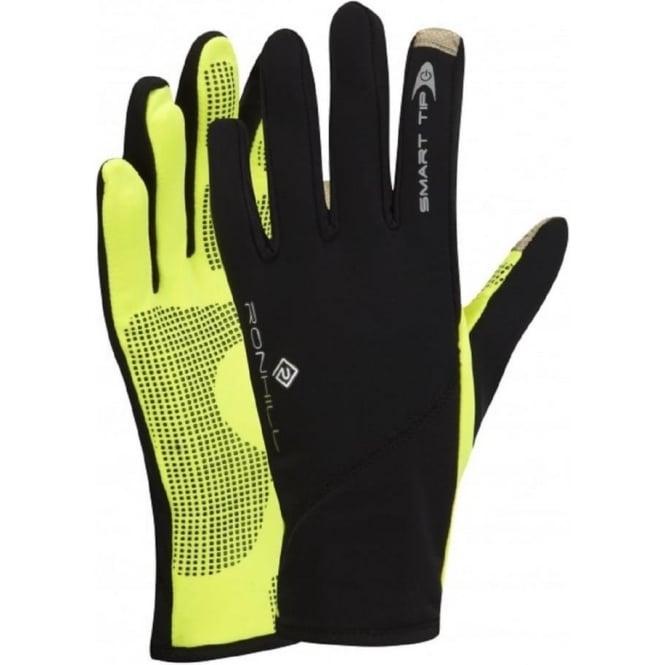 Ronhill Sirocco Glove Black/Fluo Yellow