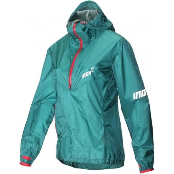 Inov8 AT/C Stormshell Half Zip Womens Running Jacket Teal/Pink