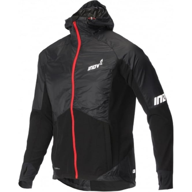 Inov8 AT/C Softshell Pro Full Zip Black/Red Mens