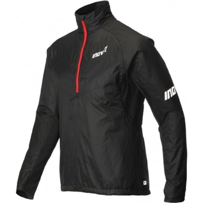 AT/C Thermoshell Half Zip Mens Running Jacket Black/Red