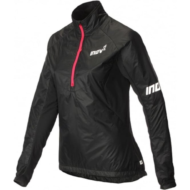 AT/C Thermoshell Half Zip Womens Running Jacket Black/Pink