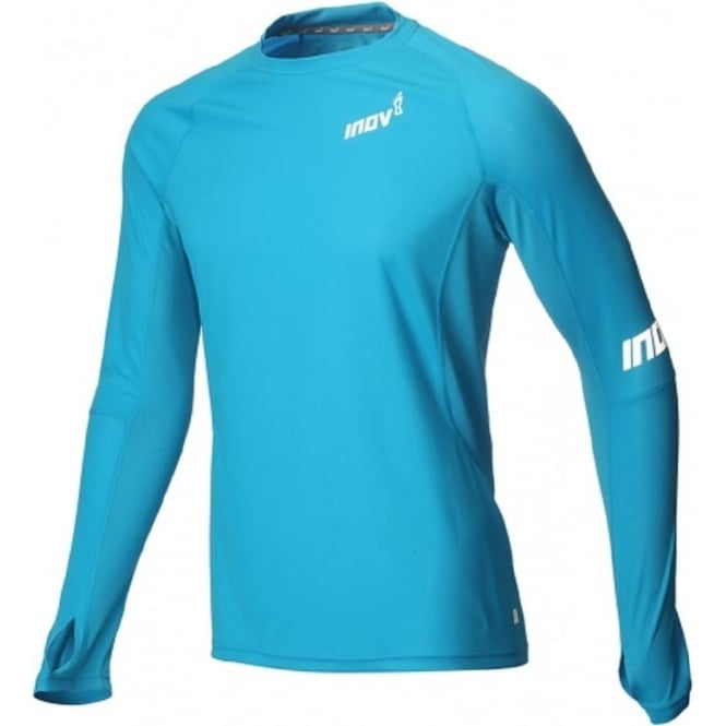 Inov8 AT/C Base Long Sleeve Blue Mens