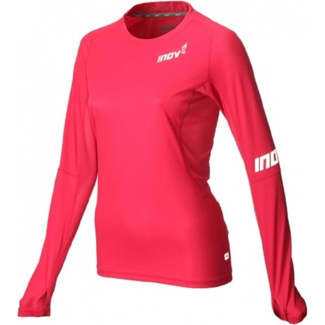Inov8 AT/C Base Long Sleeve Pink Womens