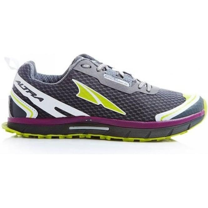 Altra Lone Peak 2.0 Zero Drop Trail Running Shoes Dark Grey Womens