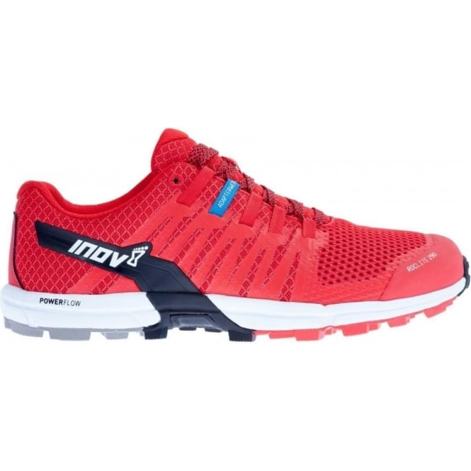 Roclite 290 Trail Running Shoes Mens Red/White