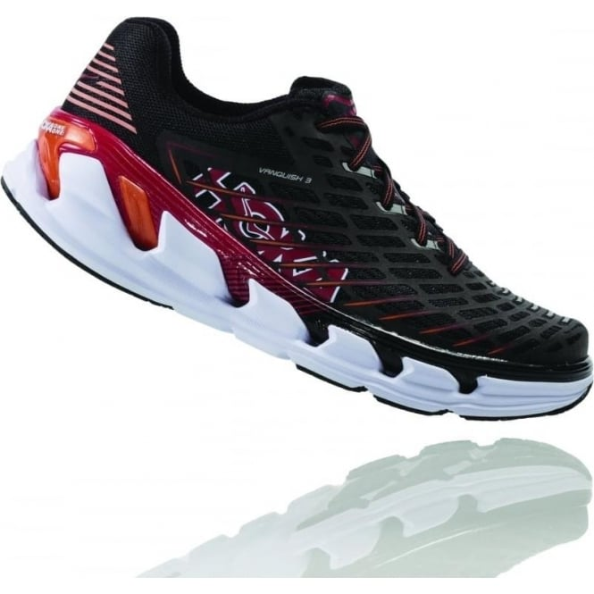 Vanquish 3 Mens Road Running Shoes Black/Formula One