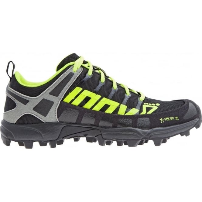 Inov8 X-Talon 212 Kids Fell Running Shoes Black/Yellow