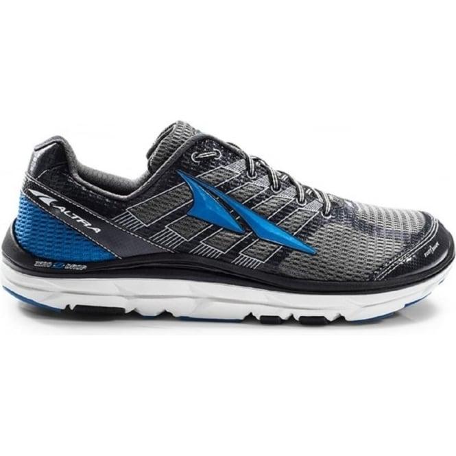 Altra Provision 3.0 Charcoal/Blue Mens Zero Drop Road Running Shoes
