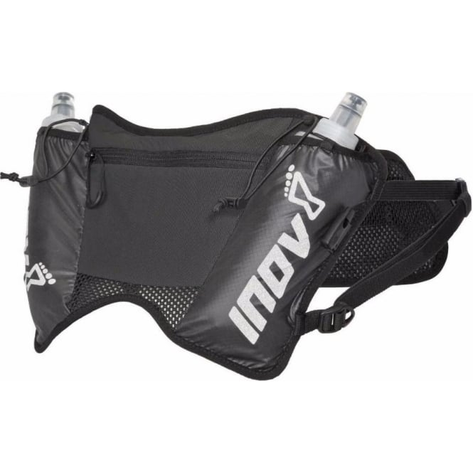Inov8 All Terrain Pro 1 Waist Pack/Bum Bag Black (SOFTFLASKS Included!)