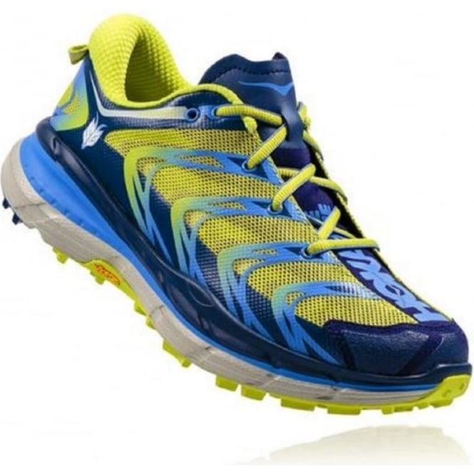 Hoka Speedgoat Medieval Blue/Green Glow Womens