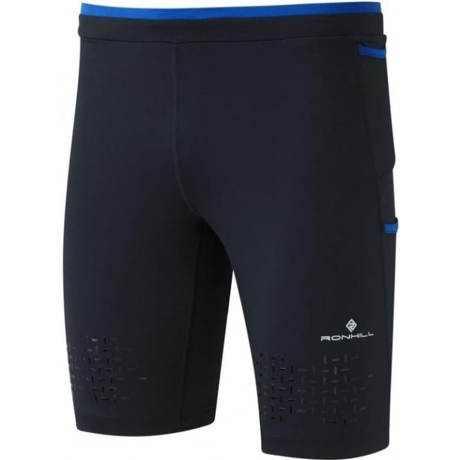 Men's Infinity Cargo Stretch Short Black/Cobalt Blue