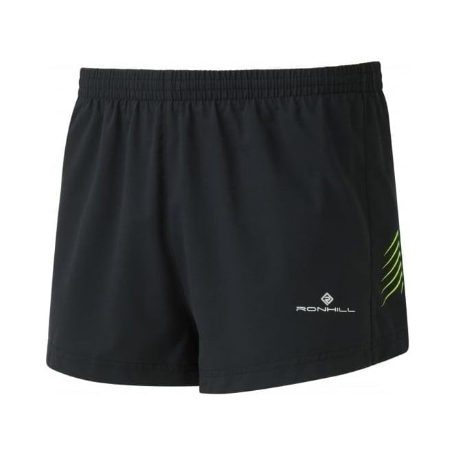 Men's Stride Cargo Racer Shorts Black/Fluo Yellow