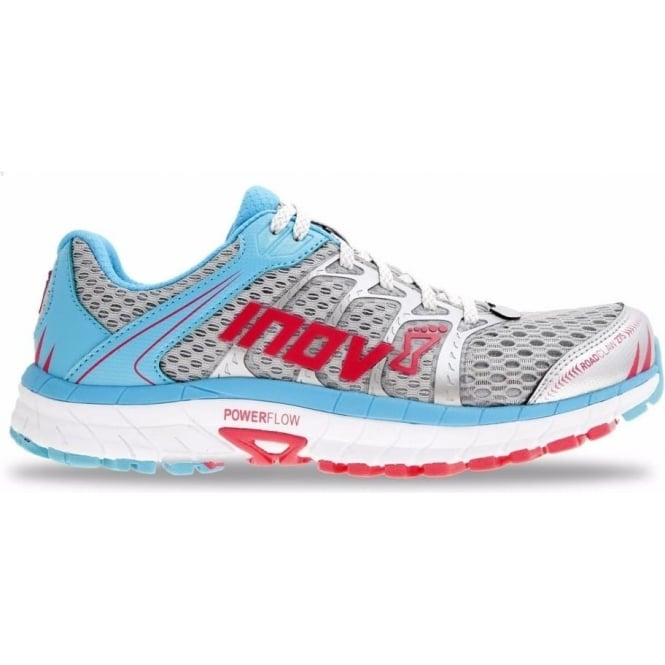 Roadclaw 275 Womens Road Running Shoes Silver/Blue/Pink