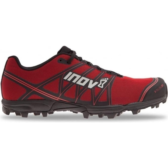 Inov8 X-Talon 200 Mens STANDARD FIT Fell Running Shoes Red/Black