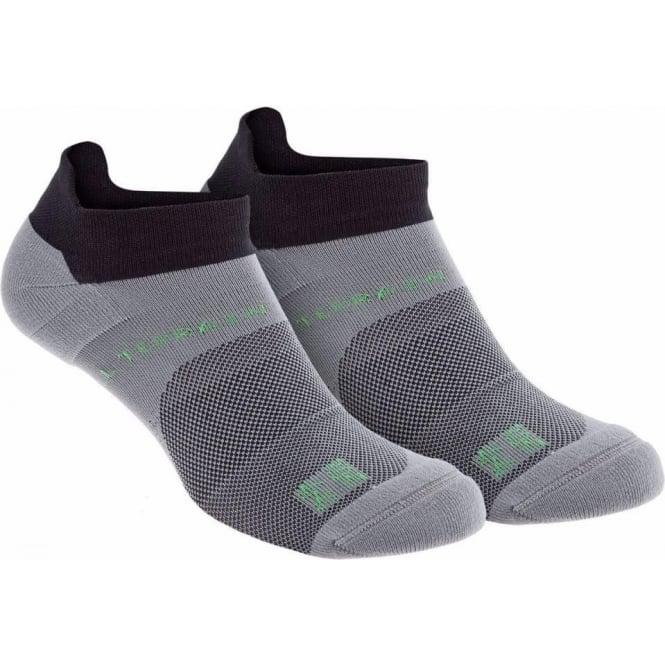 All Terrain Sock Low Twin Pack Black