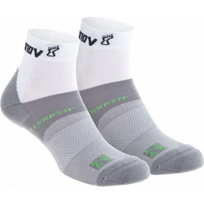 Inov8 All Terrain Sock Mid Twin Pack White