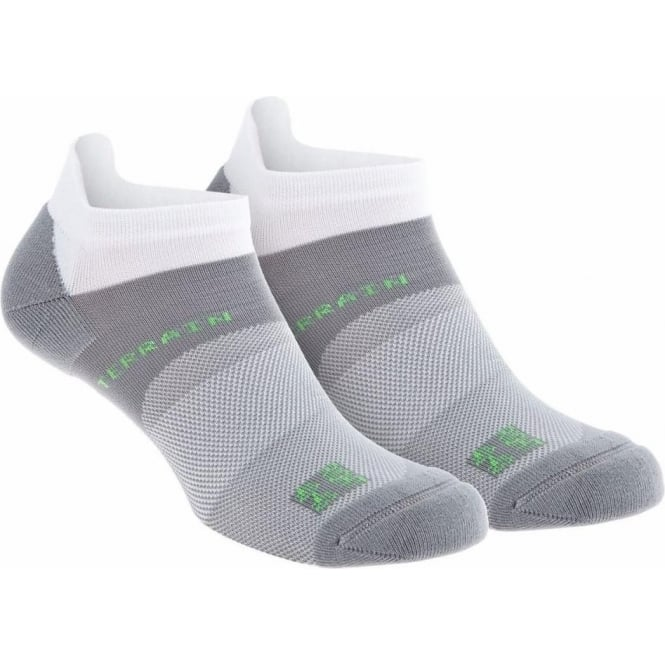 All Terrain Sock Low Twin Pack White