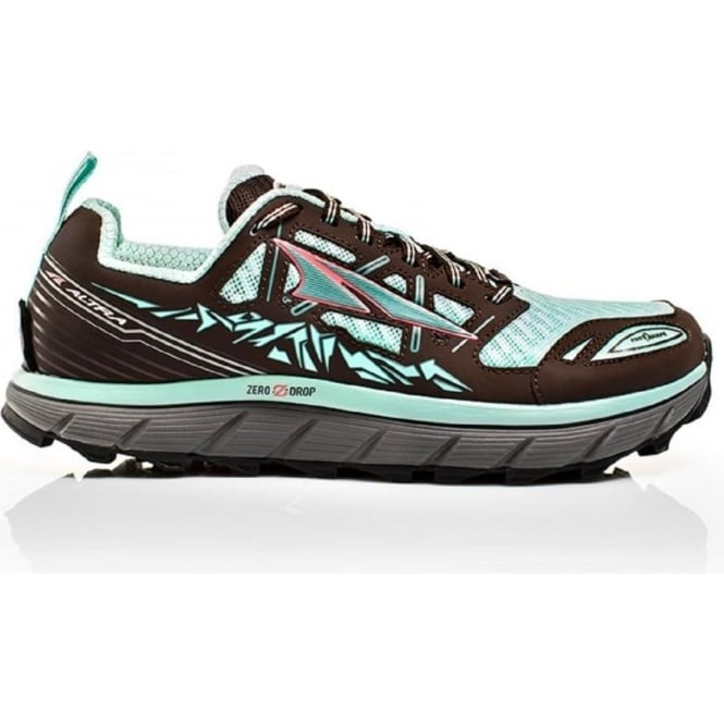 Lone Peak 3.0 Blue/Grey Womens Zero Drop Running Shoes
