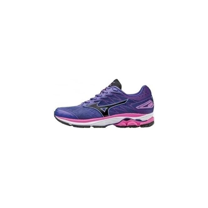 Mizuno Wave Rider 20 Road Running Shoes Purple Womens