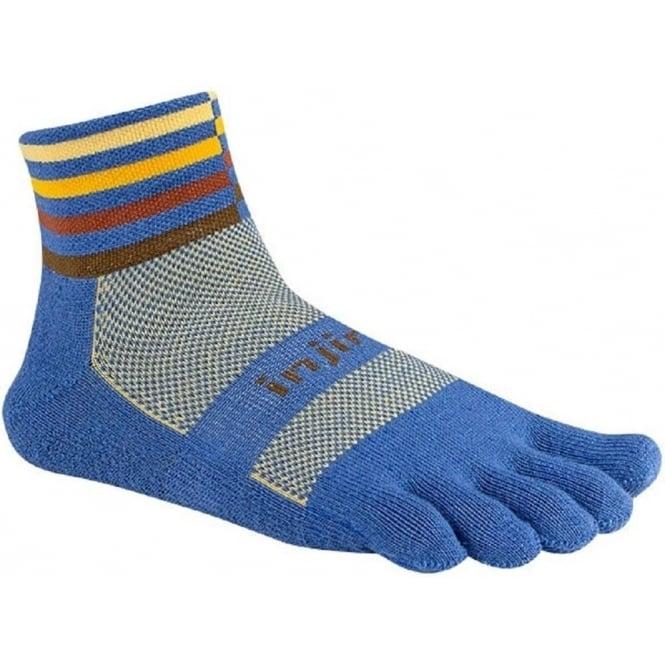 Trail Midweight Mini Crew Running Toe Socks Desert