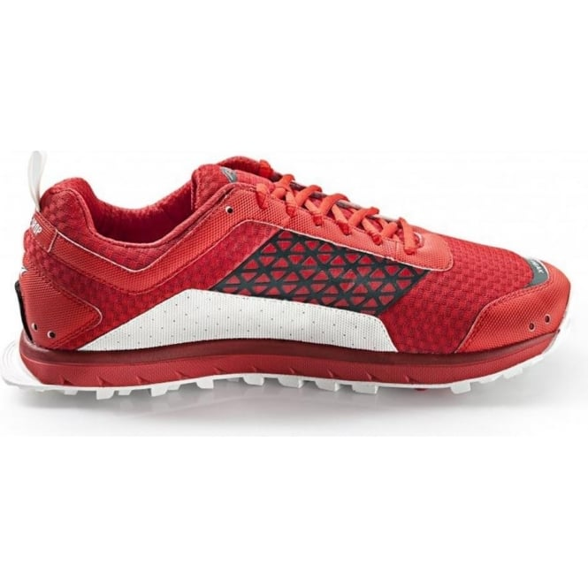 Altra Lone Peak 1.5 Zero Drop Trail Running Shoes Red Mens