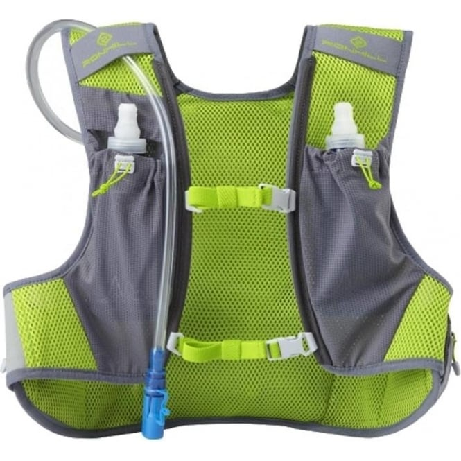 Pioneer 8L Running Vest Granite Grey/Lime