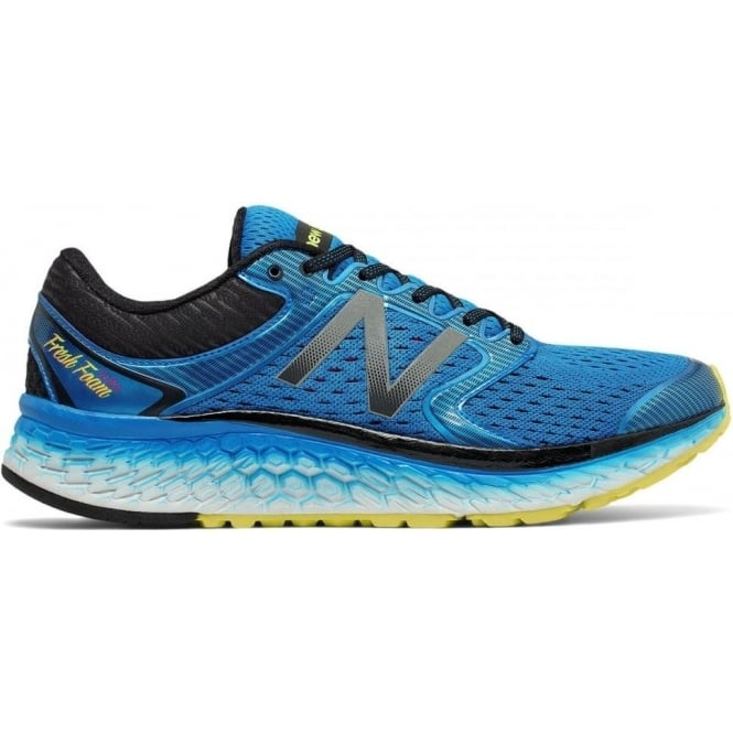 New Balance 1080 V7 Mens 2E WIDE Road Running Shoes Blue
