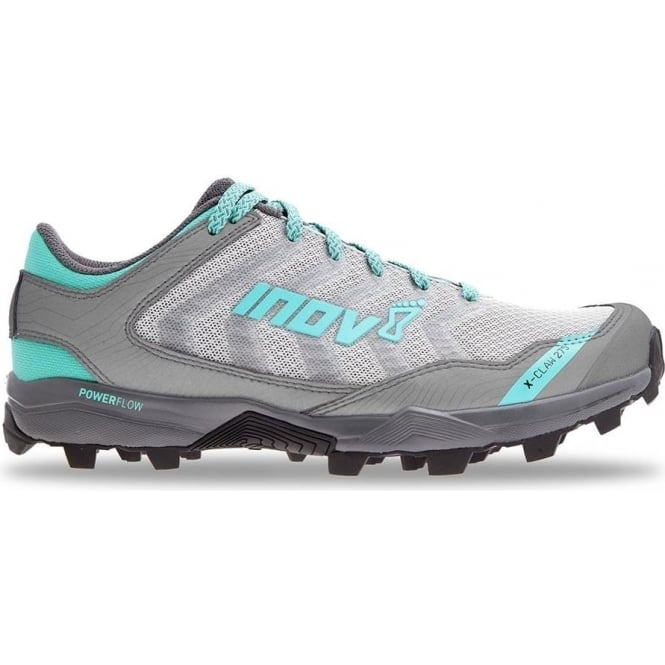 Inov8 X-Claw 275 WOMENS STANDARD FIT Trail Running Shoes Chill Silver/Grey