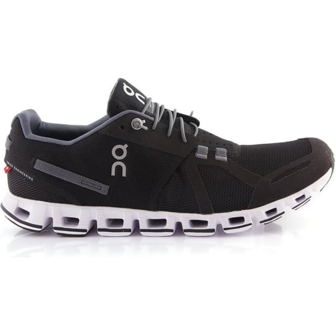 Cloud Mens Road Running Shoes Black & White