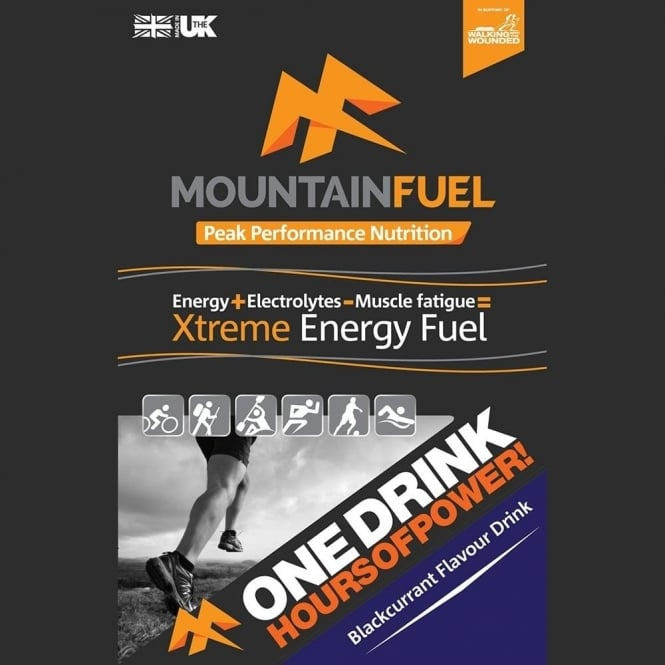 Mountain Fuel Xtreme Energy Fuel Blackcurrant