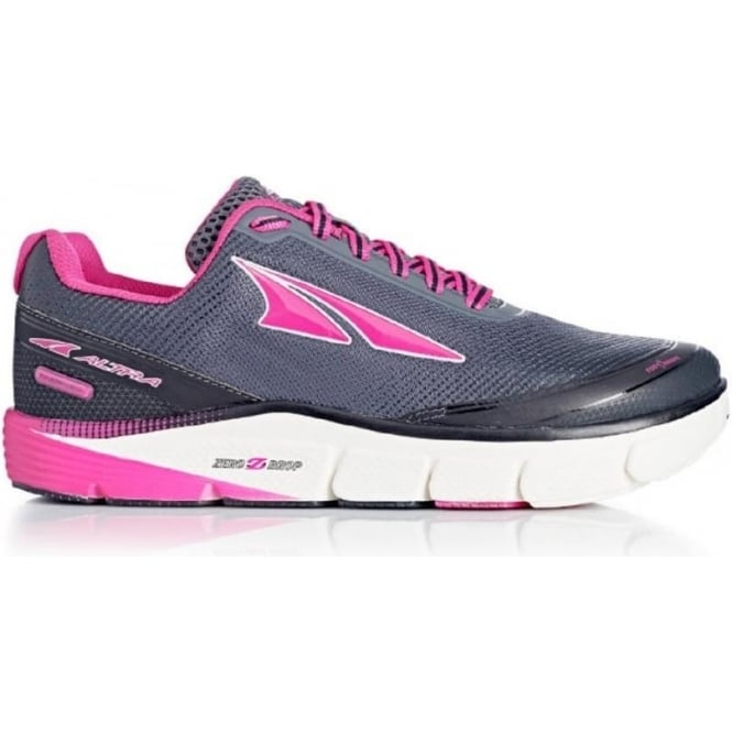 Altra Torin 2.5 Grey/Raspberry Womens Zero Drop Road Running Shoes