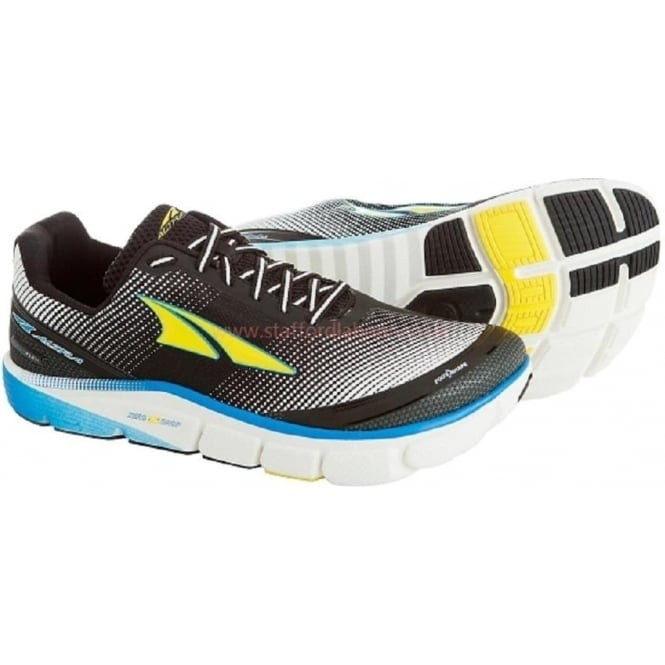 Torin 2.5 Blue/Yellow Mens Zero Drop Road Running Shoes