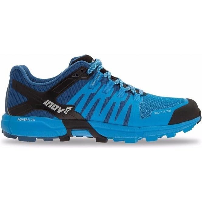 Inov8 Roclite 305 Mens STANDARD FIT Trail Running Shoes Blue/Dark Blue/Black