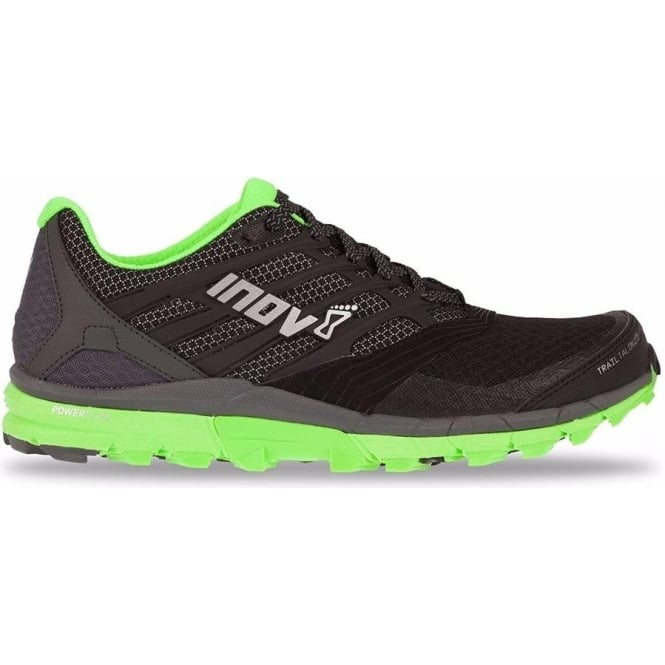 TrailTalon 275 Mens STANDARD FIT Trail Running Shoes Black/Green