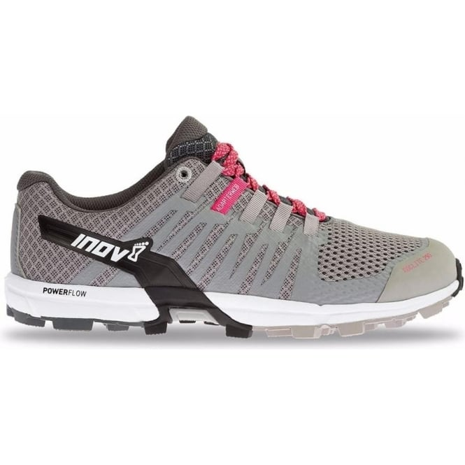 Inov8 Roclite 290 Womens STANDARD FIT Trail Running Shoes Grey/Pink/White