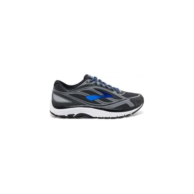 Brooks Dyad 9 Mens 4E (EXTRA WIDE WIDTH) Road Running Shoes Asphalt/Electric  Blue/Black
